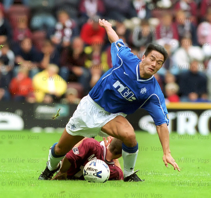 Michael Mols, Hearts v Rangers at Tynecastle, season 2000
