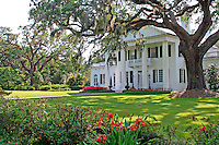 Antebellum mansion at historic Orton Plantation Gardens, Winnabow North Carolina