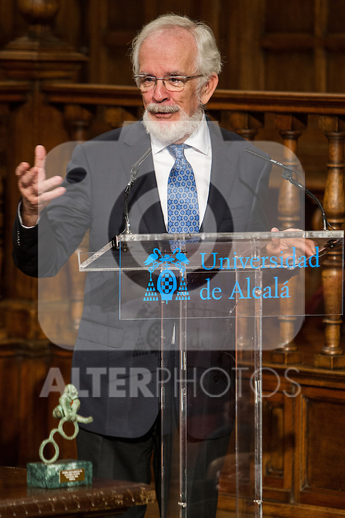 "Antonio Fraguas de Pablo ""Forjes"" during the Quevedos, an  iberoamerican award of grafic humor 2014. May 26,2016. (ALTERPHOTOS/Rodrigo Jimenez)"