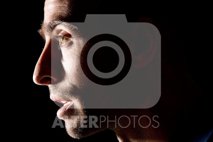 Spain's national team Borja Valero during portrait session. October 6, 2010. (ALTERPHOTOS/Alvaro Hernandez).