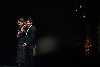 """SÃO PAULO, SP, 18.12.2018 - SHOW-SP - Xororó faz participação no show de Sandy, """"Nós Vóz Eles"""",  no Credicard Hall em São Paulo, nesta terça-feira, 12 (Foto: Bruna Grassi/Brazil Photo Press)"""