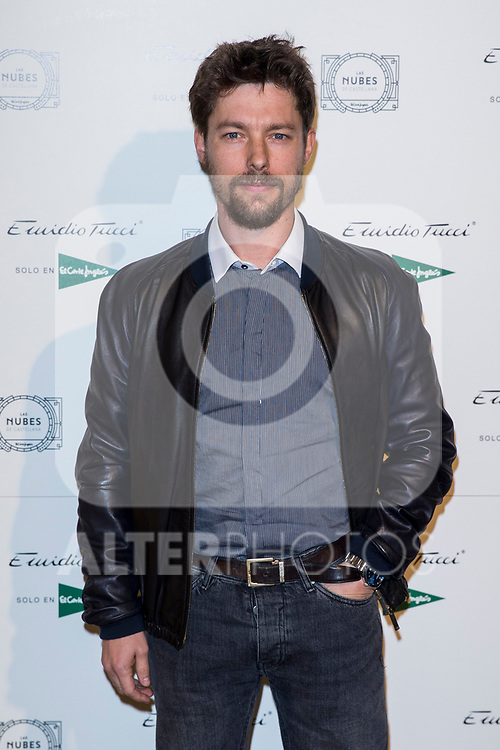 Jan Cornet attend Emidio Tucci parade of the new autumn / winter collection in Madrid, Spain. March 30, 2017. (ALTERPHOTOS / Rodrigo Jimenez)