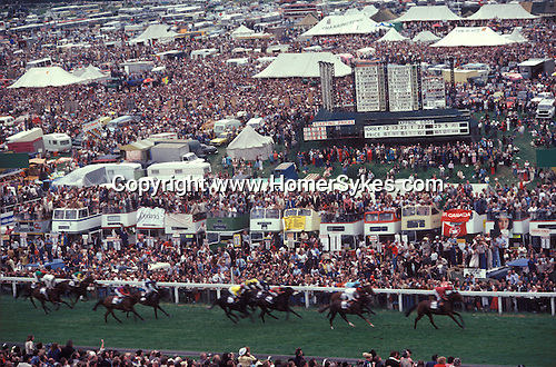 Derby Day Epsom Downs.  The English Season published by Pavilion Books 1987
