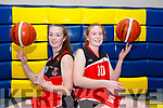 St Marys players Paris McCarthy (u16) and Siofra O'Shea (u18) who have selected for Irish teams in their age groups