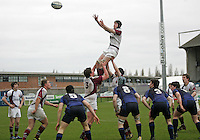 Wednesday 21st March 2012 - Action during the Ulster Schools Subsidiary Shield Final between Limavady Grammar School and Royal School Armagh at Ravenhill, Belfast.<br /> <br /> Picture credit: John Dickson / DICKSONDIGITAL
