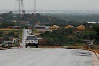 Trecho da rod. Pa 254 na saída da cidade.<br /> Óbidos, Pará, Brasil.<br /> Foto Paulo Santos<br /> 2008 Extensão<br /> 288 km<br /> Principal Ligação<br /> Oriximiná - Prainha