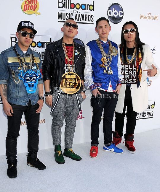 WWW.ACEPIXS.COM . . . . .  ..... . . . . US SALES ONLY . . . . .....May 20 2012, Las Vegas....Far East Movement at the 2012 Billboard Awards held at the MGM Hotel and Casino in on May 20 2012 in Las Vegas ....Please byline: FAMOUS-ACE PICTURES... . . . .  ....Ace Pictures, Inc:  ..Tel: (212) 243-8787..e-mail: info@acepixs.com..web: http://www.acepixs.com