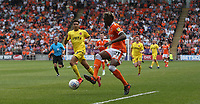 Blackpool's Armand Gnanduillet controls the ball as he advances on goal<br /> <br /> Photographer Stephen White/CameraSport<br /> <br /> The EFL Sky Bet League One - Blackpool v Fleetwood Town - Monday 22nd April 2019 - Bloomfield Road - Blackpool<br /> <br /> World Copyright © 2019 CameraSport. All rights reserved. 43 Linden Ave. Countesthorpe. Leicester. England. LE8 5PG - Tel: +44 (0) 116 277 4147 - admin@camerasport.com - www.camerasport.com<br /> <br /> Photographer Stephen White/CameraSport<br /> <br /> The EFL Sky Bet Championship - Preston North End v Ipswich Town - Friday 19th April 2019 - Deepdale Stadium - Preston<br /> <br /> World Copyright © 2019 CameraSport. All rights reserved. 43 Linden Ave. Countesthorpe. Leicester. England. LE8 5PG - Tel: +44 (0) 116 277 4147 - admin@camerasport.com - www.camerasport.com