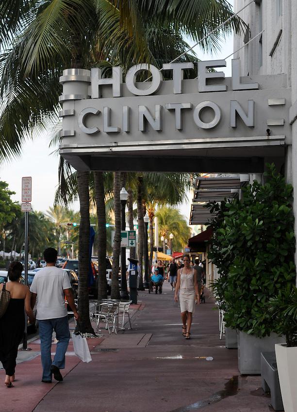 Clinton Hotel, 8th Street, South Beach, Miami Beach, Florida
