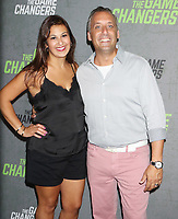 September 09, 2019 Bessy Gatto, Joe Gatto attend the premiere of The Game Changers  at the Regal Battery Park in New York. September 09, 2019 <br /> CAP/MPI/RW<br /> ©RW/MPI/Capital Pictures