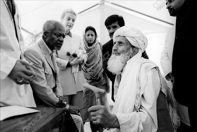 Kofi ANNAN, UN Secretary General, Pakistan, March 2001