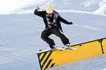 Verbier, Switzerland. March 23rd 2010..Verbier Swatch Snowpark - La Chaux..