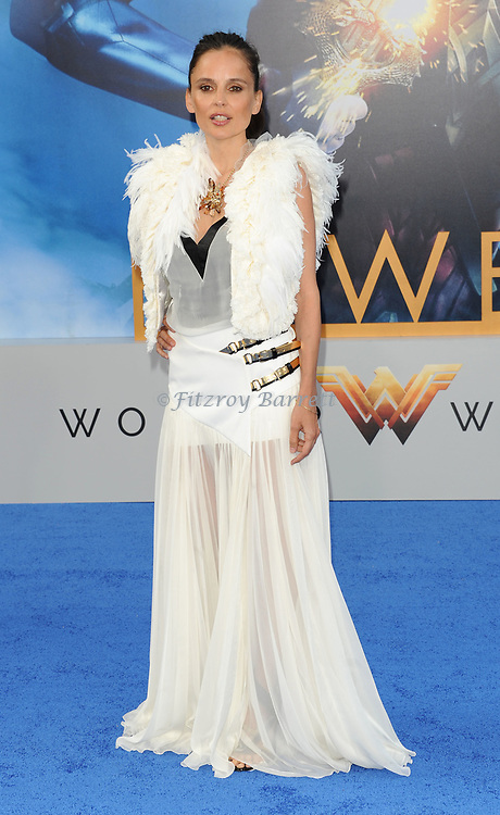 Elena Anaya arriving at the Los Angeles world premiere of Wonder Women, held at the Pantages Theatre Hollywood, California on May 25, 2017