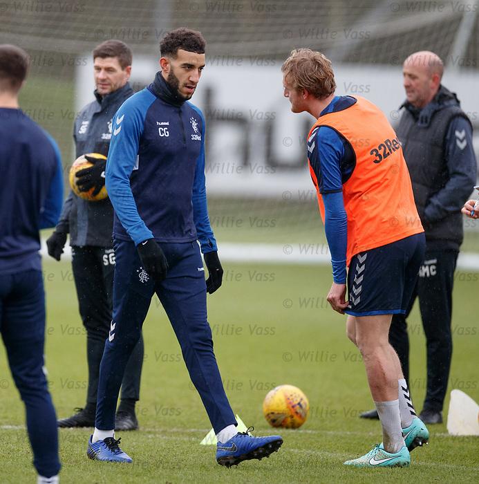 05.02.2019: Rangers training: Connor Goldson