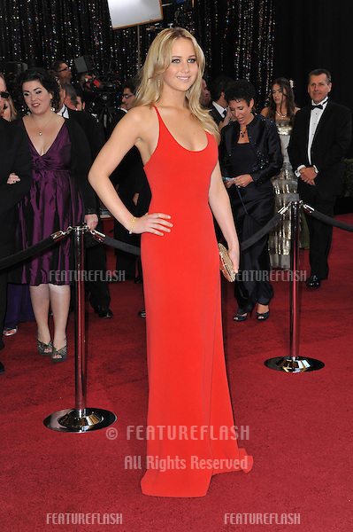 Jennifer Lawrence at the 83rd Annual Academy Awards at the Kodak Theatre, Hollywood..February 27, 2011  Los Angeles, CA.Picture: Paul Smith / Featureflash