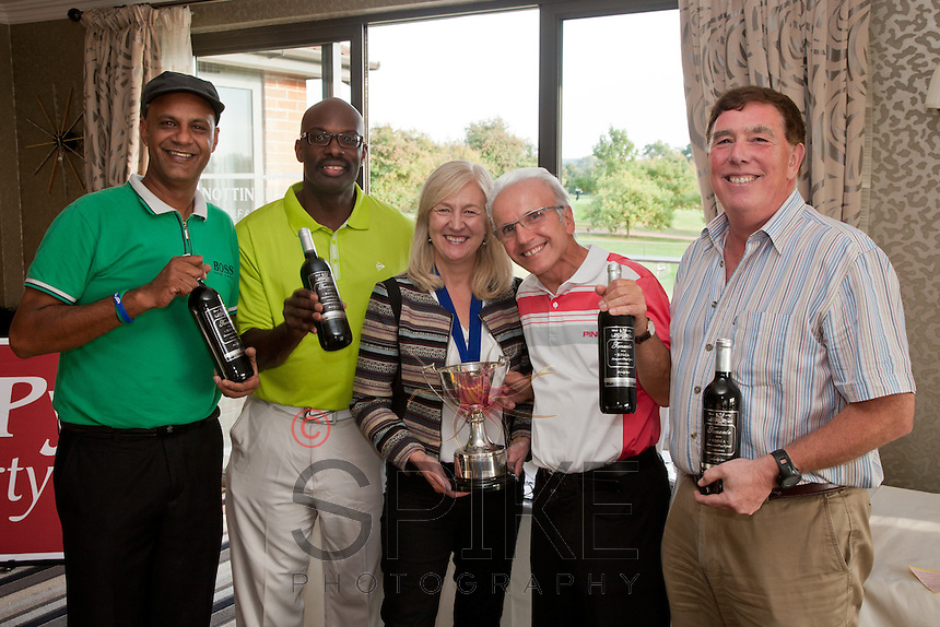Winners celebrate - Cema Cema's Gee Rashidi Martin Baker, Dianne Allen, Frank Ciaurro and David Armitage
