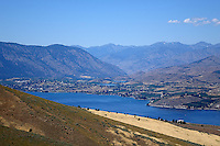 A view of Lake Chelan from Chelan Butte