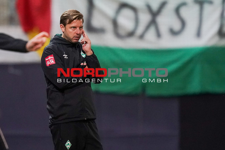 Florian Kohfeldt (Trainer SV Werder Bremen), Gestik, Mimik<br /> <br /> <br /> Sport: nphgm001: Fussball: 1. Bundesliga: Saison 19/20: Relegation 02; 1.FC Heidenheim vs SV Werder Bremen - 06.07.2020<br /> <br /> Foto: gumzmedia/nordphoto/POOL <br /> <br /> DFL regulations prohibit any use of photographs as image sequences and/or quasi-video.<br /> EDITORIAL USE ONLY<br /> National and international News-Agencies OUT.
