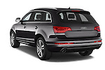 Car pictures of rear three quarter view of a 2015 Audi Q7 - 5 Door Suv 2WD Angular Rear