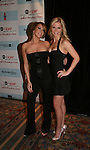 Farah Fath and Crystal Hunt - One Life To Live attends the after party of ABC and SOAPnet's Salutes to Broadway Cares/Equity Fights Aids on March 9, 2009 at the New York Marriott Marquis, New York, NY.  (Photo by Sue Coflin/Max Photos)