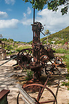 Hassell Island is a small brush covered historical district located across from Charlotte Amalie. Several forts or batteries were buried under the thorny briars. An old steam driven marine railway is a fascinating point of interest and facing the town was a beautiful house with a unique cistern.