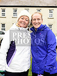 Karen Coyne and Andrea O'Grady who took part in the Ryan Coyle Run/Walk in Duleek. Photo:Colin Bell/pressphotos.ie