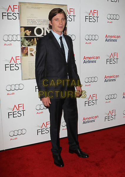 Garrett Hedlund.AFI FEST 2012 'On The Road' gala screening, Grauman's Chinese Theatre, Hollywood, California, USA..3rd November 2012.full length black suit blue shirt.CAP/ADM/KB.©Kevan Brooks/AdMedia/Capital Pictures.