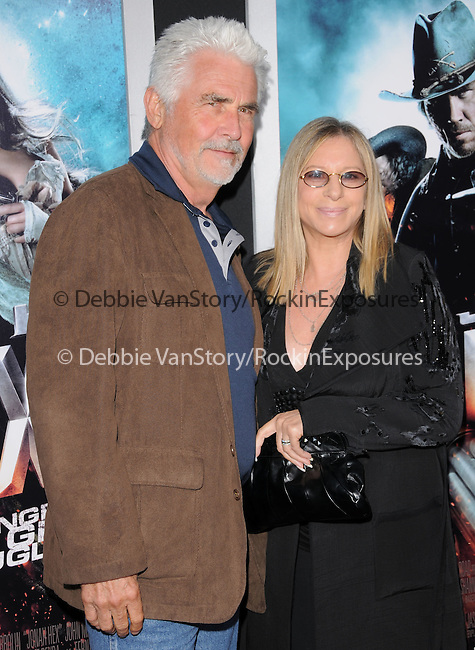 James Brolin & Barbra Streisand at the Warner Bros. Pictures Special Screening of Jonah Hex in Hollywood, California on June 17,2010                                                                               © 2010 Debbie VanStory / Hollywood Press Agency