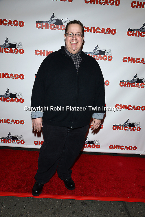 """Paul Vogt attends """"Chicago""""  becoming the 2nd Longest Running Show on Broadway at performance 7486 on November 23, 2014 at the Ambassodor Theatre in New York City."""