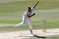 Jamie Porter in bowling action for Essex during Essex CCC vs Nottinghamshire CCC, Specsavers County Championship Division 1 Cricket at The Cloudfm County Ground on 22nd June 2018