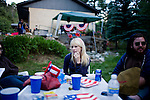 The annual Fourth of July party at Zach Spencer's parents house in Idaho Springs.  The party culminates in climbing a mountain above where the fireworks are lit and watching them below.