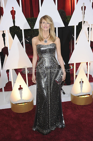 HOLLYWOOD, CA - FEBRUARY 22: Laura Dern attends 87th Annual Academy Awards at The Dolby Theater on February 22nd, 2015 in Hollywood, California. Credit: PGMP/MediaPunch