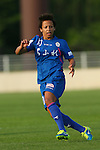 Sarah Gregorius (Elfen), <br /> JULY 12, 2015 - Football / Soccer : <br /> 2015 Plenus Nadeshiko League Division 1 <br /> between NTV Beleza 1-0 AS Elfen Saitama <br /> at Hitachinaka Stadium, Ibaraki, Japan. <br /> (Photo by YUTAKA/AFLO SPORT)