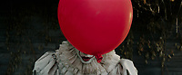 It (2017)<br /> BILL SKARSGARD as Pennywise <br /> *Filmstill - Editorial Use Only*<br /> CAP/KFS<br /> Image supplied by Capital Pictures