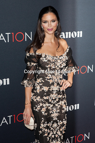 NEW YORK, NY - OCTOBER 24, 2013: Georgina Chapman attends the Premiere Of Canon's Project Imaginat10n Film Festival at Alice Tully Hall on October 24, 2013 in New York City. <br /> Credit: MediaPunch/face to face<br /> - Germany, Austria, Switzerland, Eastern Europe, Australia, UK, USA, Taiwan, Singapore, China, Malaysia, Thailand, Sweden, Estonia, Latvia and Lithuania rights only -