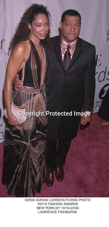 ©2000 ADRIAN LEWIS/HUTCHINS PHOTO.VH1'S FASHION AWARDS.NEW YORK,NY 10/16-22/00.LAWRENCE FISHBURNE