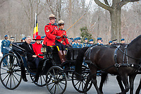 King Philippe & Queen Mathilde of Belgium,  on a State visit to Canada - Welcoming Ceremony, Ottawa