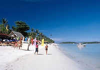 Thailand, island Ko Samui, Chaweng Beach - popular with many bars and restaurants