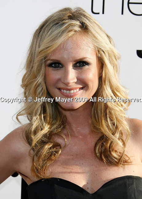 "HOLLYWOOD, CA. - July 16: Bonnie Somerville arrives at the Los Angeles premiere of ""The Ugly Truth"" held at the Pacific's Cinerama Dome on July 16, 2009 in Hollywood, California."