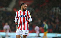 Stoke City's Ashley Williams<br /> <br /> Photographer Stephen White/CameraSport<br /> <br /> The EFL Sky Bet Championship - Stoke City v Preston North End - Saturday 26th January 2019 - bet365 Stadium - Stoke-on-Trent<br /> <br /> World Copyright © 2019 CameraSport. All rights reserved. 43 Linden Ave. Countesthorpe. Leicester. England. LE8 5PG - Tel: +44 (0) 116 277 4147 - admin@camerasport.com - www.camerasport.com