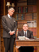"Simon Williams as ""Sir Humphrey Appleby"" and Richard McCabe as ""Jim Hacker, Prime Minister"". Yes, Prime Minister by Antony Jay & Jonathan Lynn opens at the Apollo Theatre in Shaftesbury Avenue with Simon Williams as Sir Humphrey Appleby and Richard McCabe as Jim Hacker, Prime Minister. Please see special instructions for usage rates."