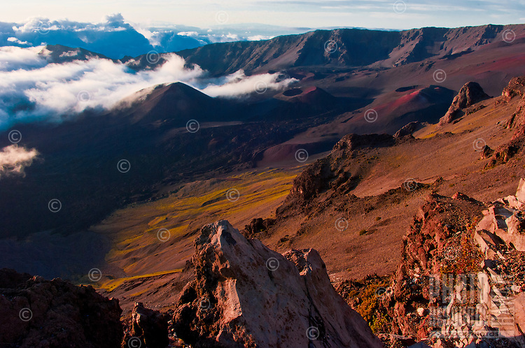 Sunrise at 10,000 feet above sea level, Mt. Haleakala, Maui