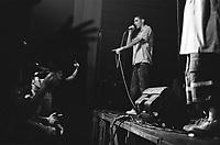 """Milano, """"Push it real - Leoncavallo walls total re-painting"""", al centro sociale Leoncavallo tre giorni dedicati alla cultura hip hop. Marracash in concerto --- Milan, """"Push it real - Leoncavallo walls total re-painting"""", three days dedicated to hip hop culture at Leocavallo social center. Marracash live on stage"""