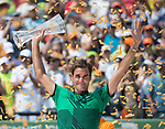 Final!  Roger Federer (SUI) defeats Rafael Nadal (ESP) by 6-3, 6-4,