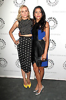 """LOS ANGELES - JUN 24:  Diane Kruger, Emily Rios at the """"The Bridge"""" Screening & Panel Discussion at the Paley Center For Media on June 24, 2014 in Beverly Hills, CA"""