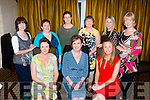 Aileen Griffin, Ballyfinnane who celebrated her 50th birthday in the Victoria House Hotel on Friday evening with her family and friends front row l-r: Norma Pollard, Aileen Griffin and Olive O'Shea. Back row; Breeda Hughes, Ellen O'Keeffe, Kerry Ryan, Angelo Daly, Eileen Foley and Mary mcCarthy