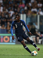 Football: Uefa under 21 Championship 2019, England - France, Dino Manuzzi stadium Cesena Italy on June18, 2019.<br /> France's Fodé Ballo-Touré in action during the Uefa under 21 Championship 2019 football match between England and France at Dino Manuzzi stadium in Cesena, Italy on June18, 2019.<br /> UPDATE IMAGES PRESS/Isabella Bonotto