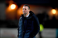 Aaron Mauger coach of the Highlanders prior to the rugby match between the Highlanders and the French Barbarians at Rugby Park in Invercargill, New Zealand on Friday, 22 June 2018. Copyright Image: Joe Allison / lintottphoto.co.nz