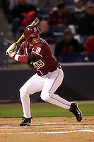 March 2, 2010:  Outfielder Tyler Holt of the Florida State Seminoles during a game at Legends Field in Tampa, FL.  Photo By Mike Janes/Four Seam Images