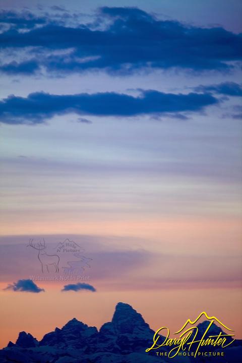 sunrise, Grand Tetons, Teton Valley, Idaho